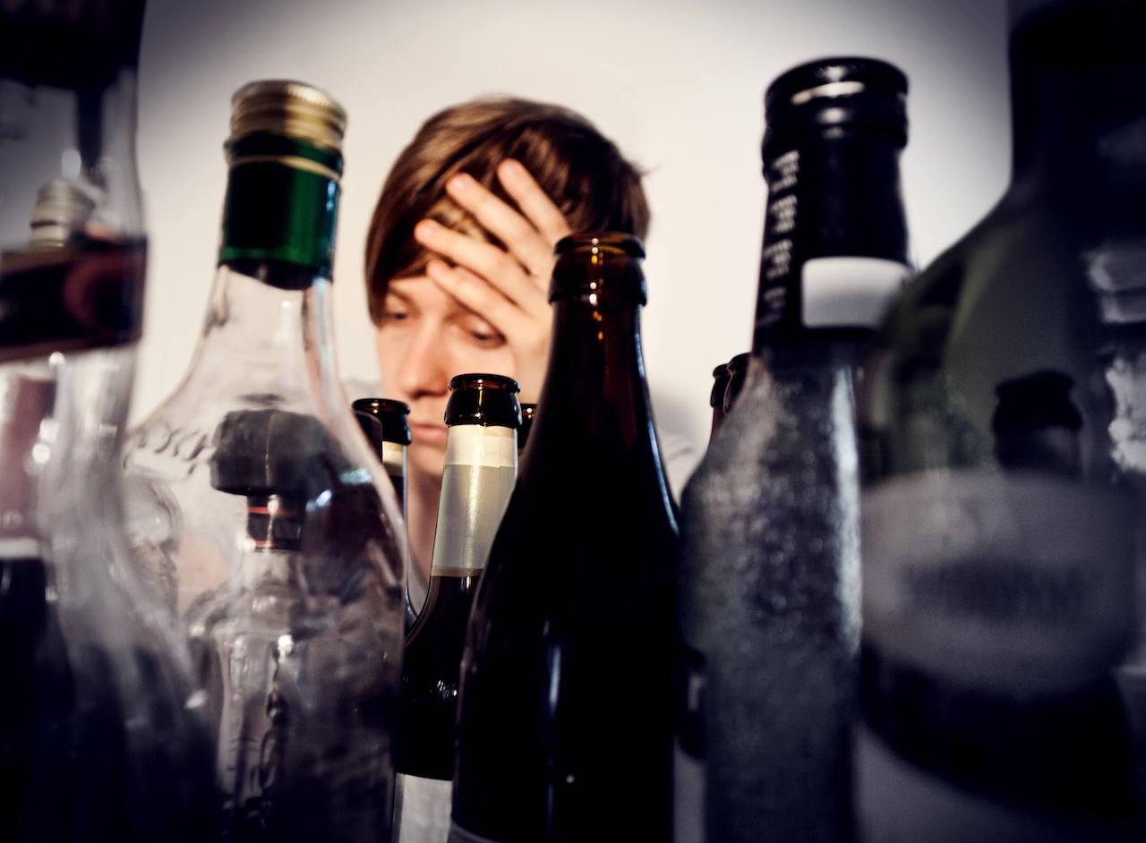 Accro à l'alcool
